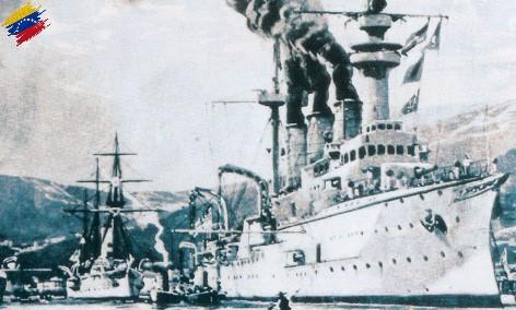 Bloqueo naval a Venezuela, año 1902