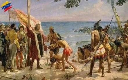 Cristóbal Colón y los Caribes