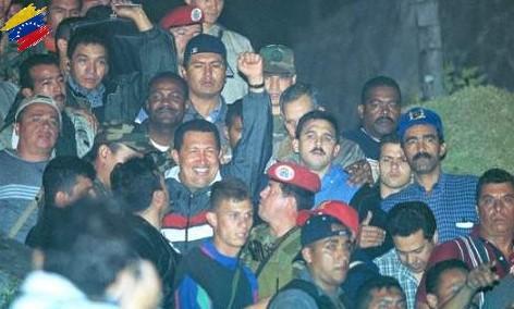 Hugo Chávez 11 de abril