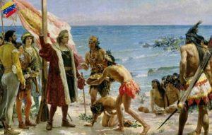 Llegada de Cristóbal Colón a Venezuela 1498