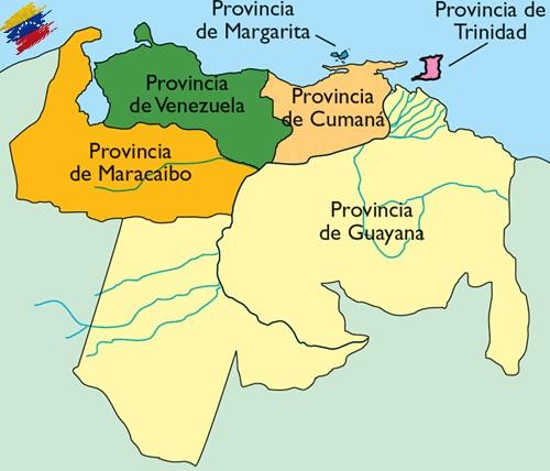 Mapa Provincia de Venezuela