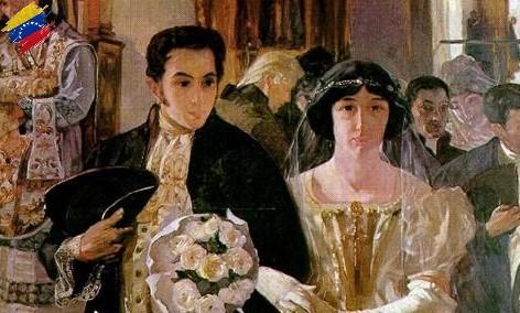 Matrimonio de Simón Bolívar