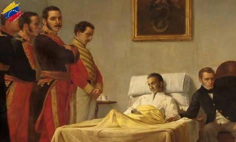 Muerte de Simón Bolívar