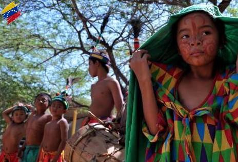 Niños guajiros