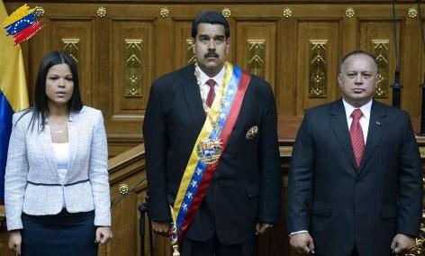 Posesión de Nicolás Maduro 2013