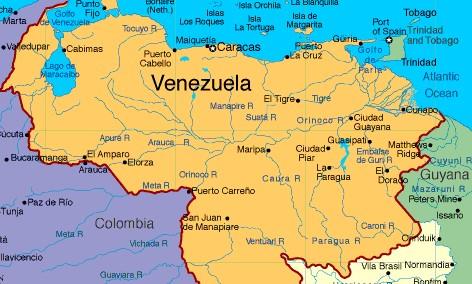 Problemas fronterizos de Venezuela
