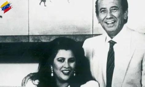 Carlos Andrés Pérez y Cecilia Matos