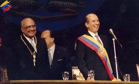 Carlos Andrés Pérez y Jaime Lusinchi