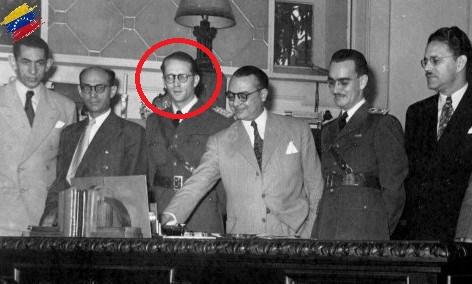 Carlos Delgado Chalbaud en la Junta Revolucionaria de Gobierno