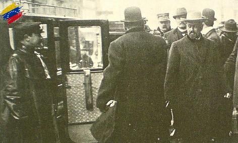 Cipriano Castro en París
