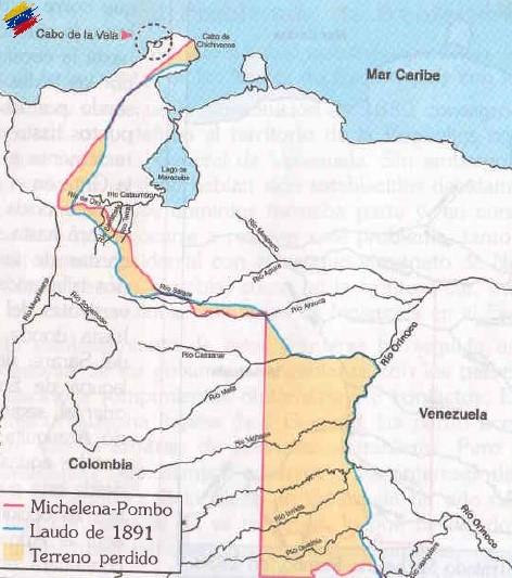 Frontera del Laudo Arbitral de 1891
