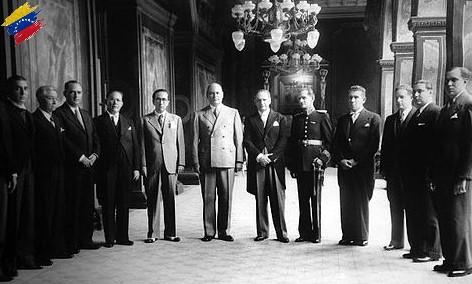 Gabinete de Isaías Medina Angarita