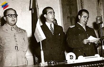 Germán Suárez Flamerich y la Junta de Gobierno