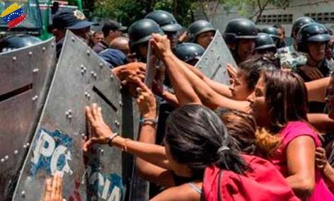 Enfrentamientos violentos en Venezuela en el año 2013 y 2014