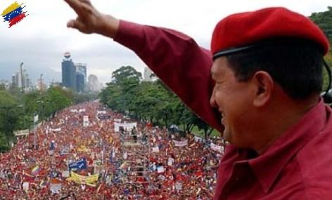 Hugo Chávez en la campaña del referendo revocatario de 2004