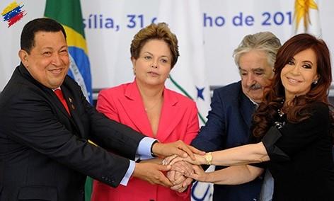 Hugo Chávez y el Mercosur