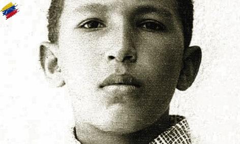 Hugo Chávez niño