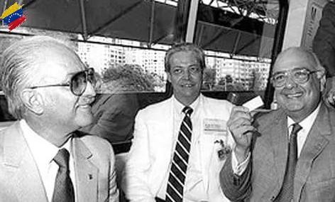 Jaime Lusinchi y el Metro de Caracas