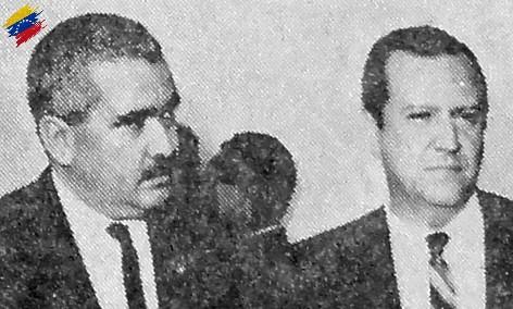 Luis Herrera Campíns y Rafael Caldera