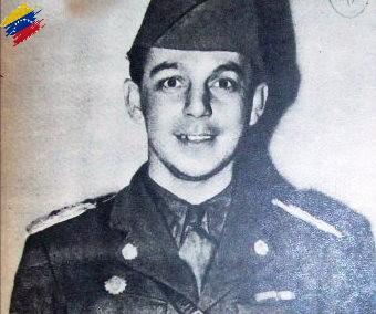 Marcos Pérez Jiménez joven