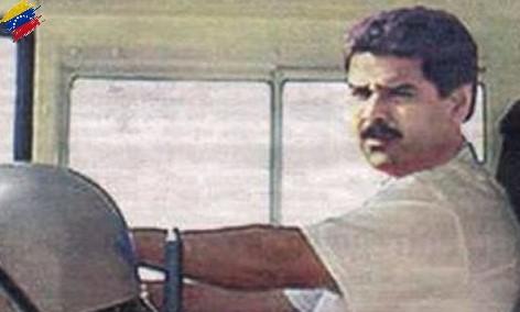 Nicolás Maduro conductor de buses