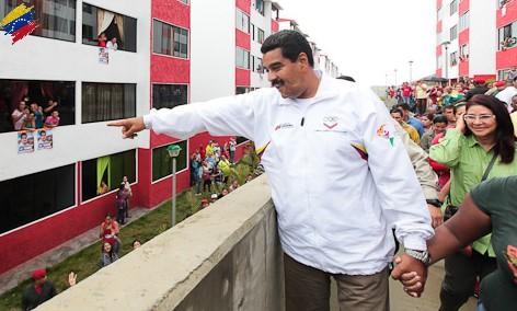 Nicolás Maduro y la Gran Misión Vivienda Venezuela