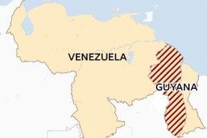 Problemas fronterizos de Venezuela con Guyana