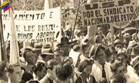 Protestas contra Eleazar López Contreras