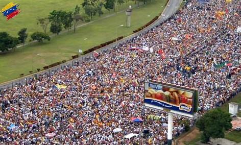 Protestas contra Hugo Chávez