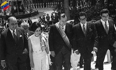 Rafael Caldera en el Congreso