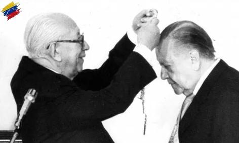 Ramón J. Velásquez y Rafael Caldera
