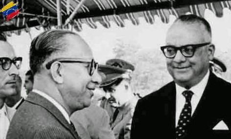 Ramón J. Velásquez y Rómulo Betancourt
