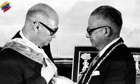 Rómulo Betancourt y Raúl Leoni