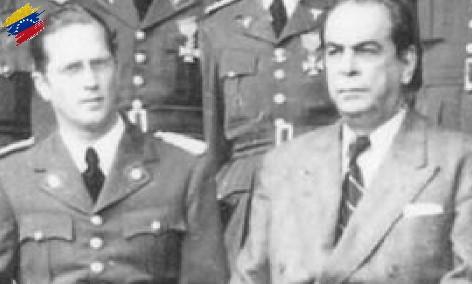 Rómulo Gallegos y Carlos Delgado Chalbaud